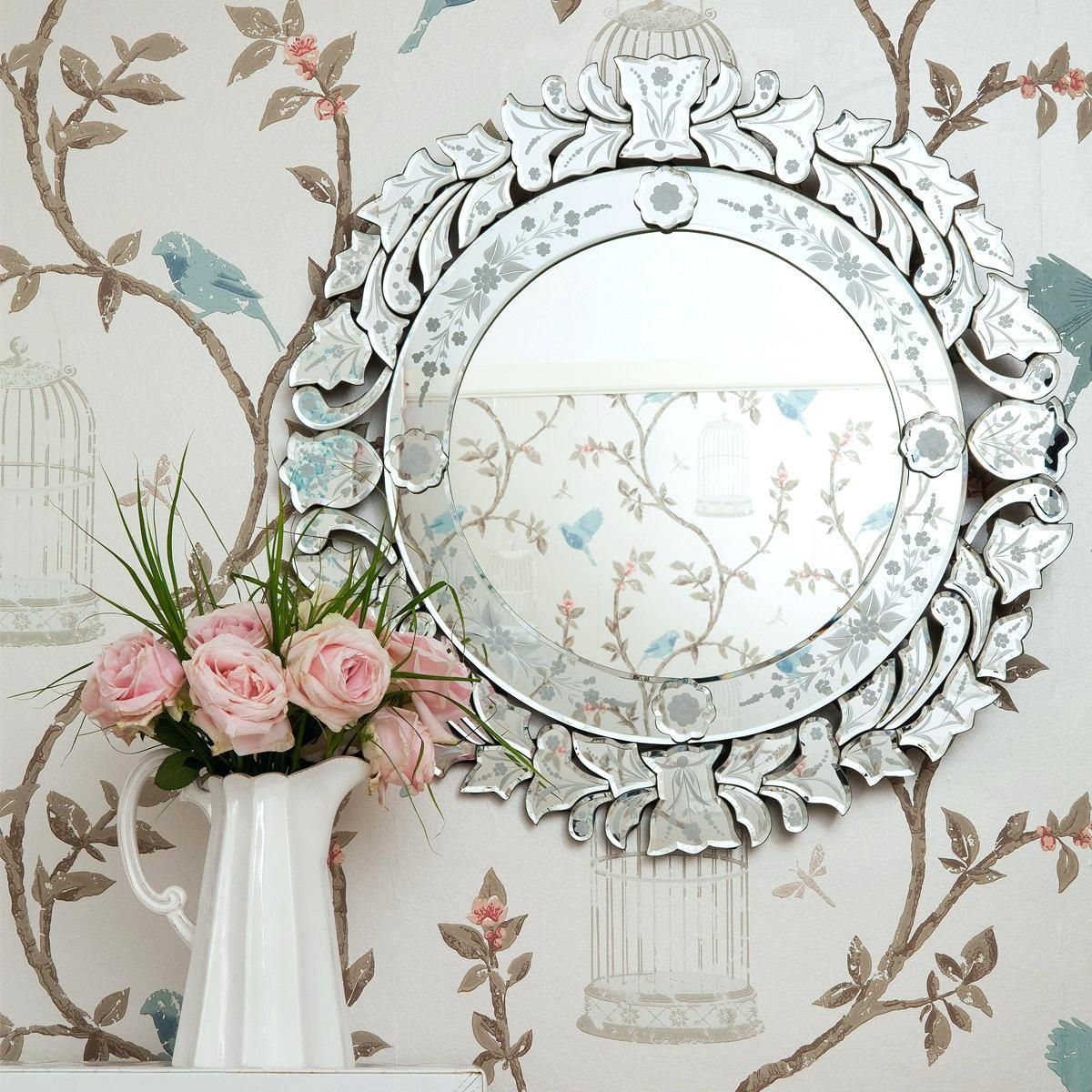Fancy Wall Mirror – Shopwiz With Fancy Wall Mirror (Image 14 of 20)