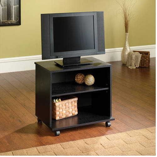 Fantastic Best Bookshelf And TV Stands Throughout Mainstays Tv Stand For Flat Screen Tvs Up To 47 Multiple Finish (Image 13 of 50)