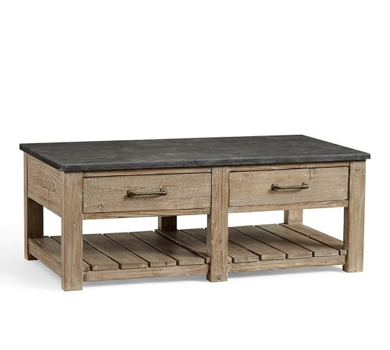 Fantastic Best C Coffee Tables For Parker Reclaimed Wood Coffee Table Pottery Barn (Image 15 of 50)