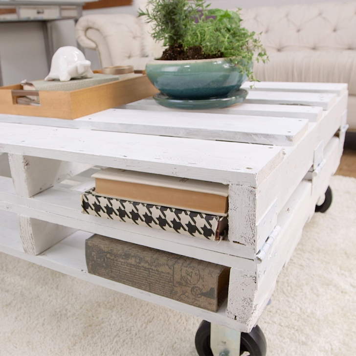 Fantastic Best Coffee Tables With Shelves Within 11 Diy Pallet Coffee Tables For Any Interior Shelterness (Image 21 of 50)
