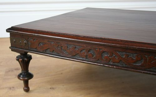 Fantastic Best Colonial Coffee Tables Throughout Colonial Teak Opium Coffee Table Circa 1840  (Image 17 of 50)
