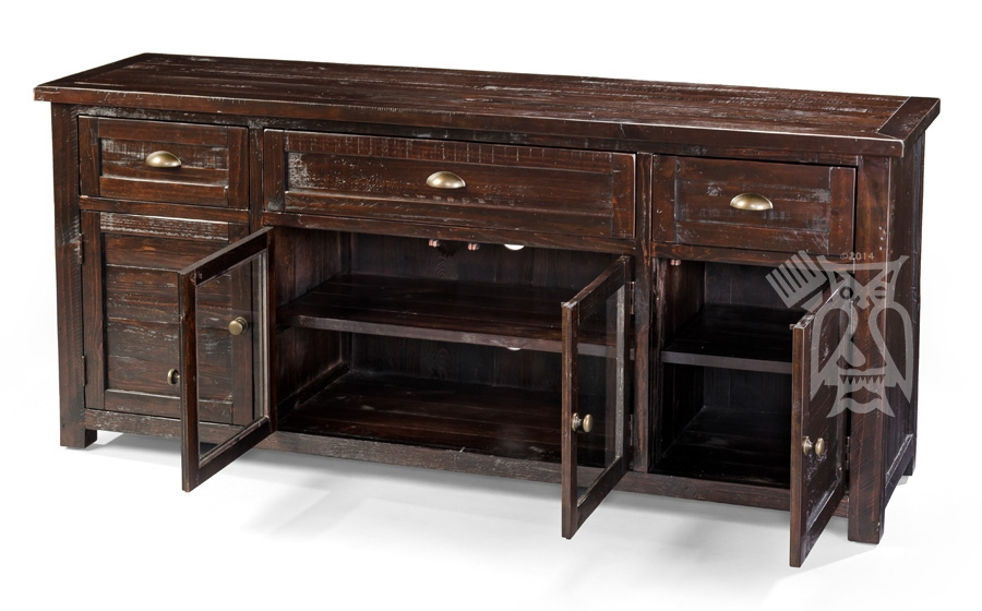 Fantastic Best Dark Wood TV Stands With Regard To Hoot Judkins Furnituresan Franciscosan Josebay Areajofran (View 41 of 50)