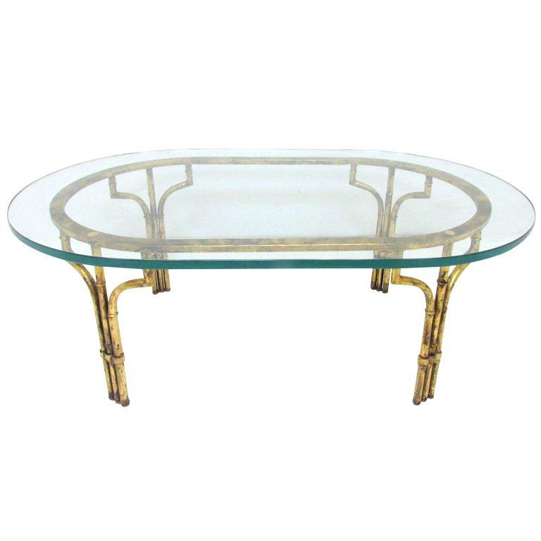 Fantastic Best Gold Bamboo Coffee Tables Throughout Gold Bamboo Coffee Table Gold Bamboo Glass Coffee Table Hollywood (View 31 of 50)