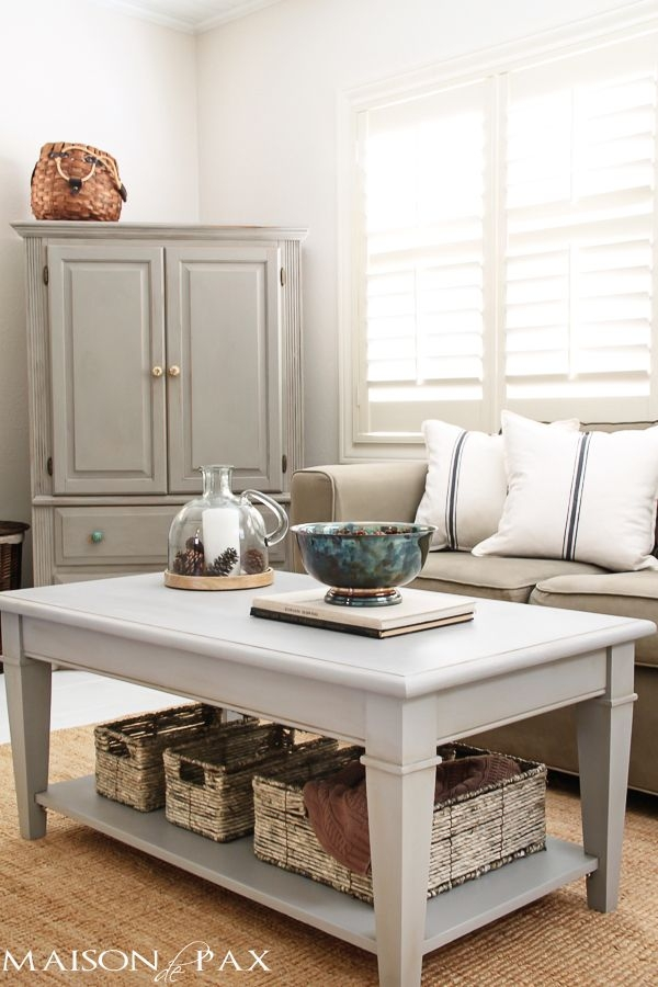 Fantastic Best Grey Coffee Table Sets Within Best 10 Painted Coffee Tables Ideas On Pinterest Farm Style (Image 21 of 50)