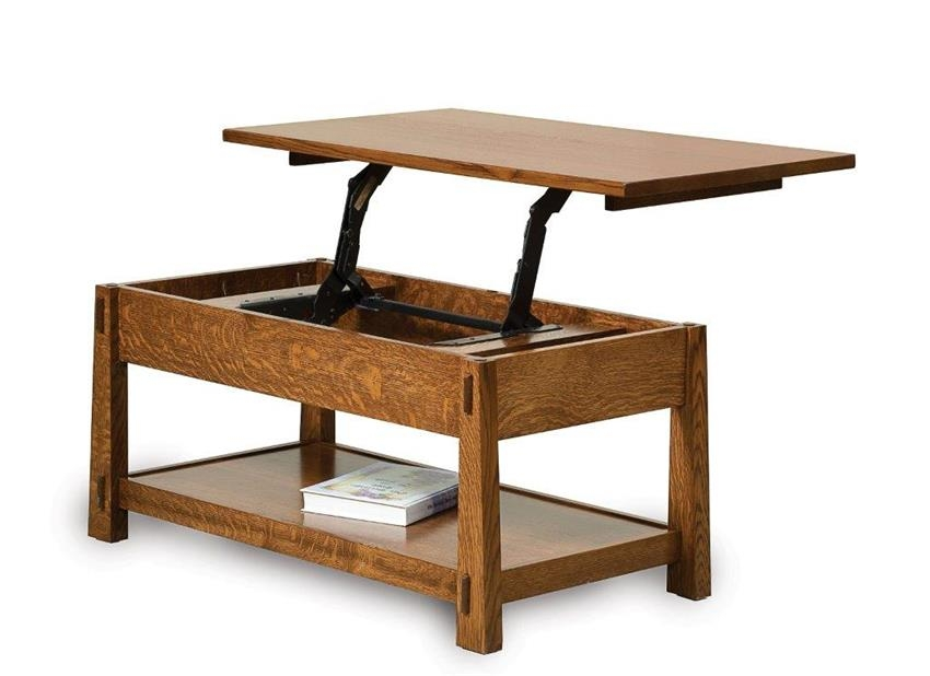 Fantastic Best Lift Coffee Tables Intended For Modesto Lift Top Coffee Table (Image 13 of 50)