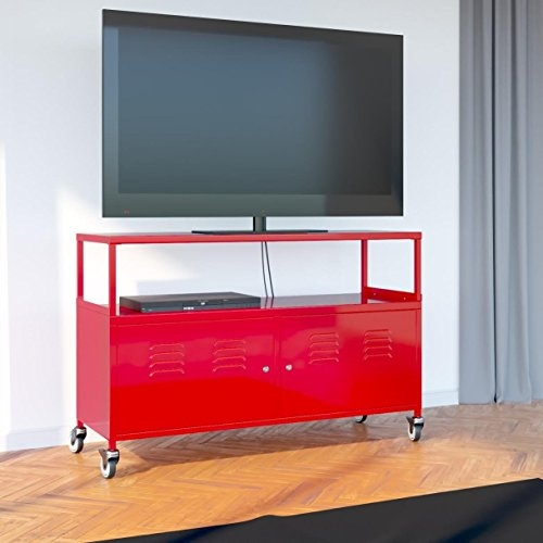 Fantastic Best Lockable TV Stands Within Fasthomegoodstuscany Metal Lockable Tv Stand Cabinet Media Sto (Image 19 of 50)