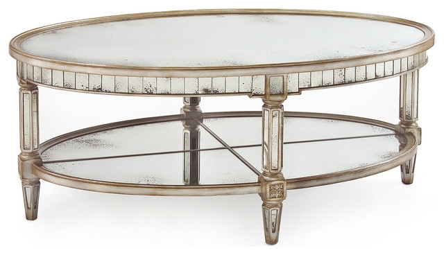 Fantastic Best Oval Mirrored Coffee Tables Within Coffee Table Mirror (View 3 of 50)