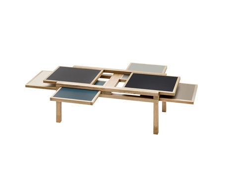 Fantastic Best Puzzle Coffee Tables Intended For Puzzle Like Table Slides Into The Perfect Configuration (View 27 of 40)