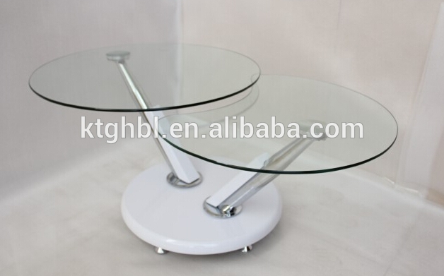 Fantastic Best Revolving Glass Coffee Tables For Glass Coffee Table Made In Chinateapoyrotating Tableshome (Image 12 of 40)