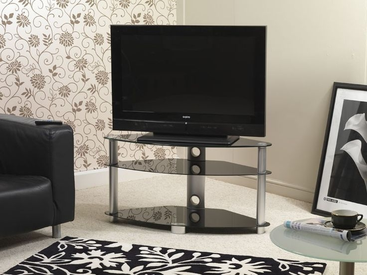 Fantastic Best Single TV Stands Pertaining To 21 Best Corner Tv Stands Images On Pinterest Corner Tv Stands (View 24 of 50)