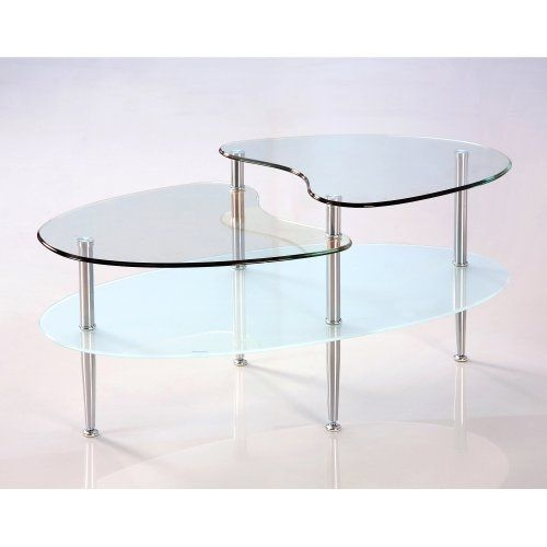 Fantastic Best Swirl Glass Coffee Tables In 170 Best Oval Coffee Tables Images On Pinterest Oval Coffee (Image 22 of 50)
