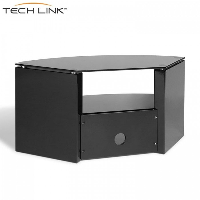 Fantastic Best Techlink Bench Corner TV Stands With Techlink Bench B3b Piano Gloss Black With Smoked Glass Corner Tv (Image 12 of 50)