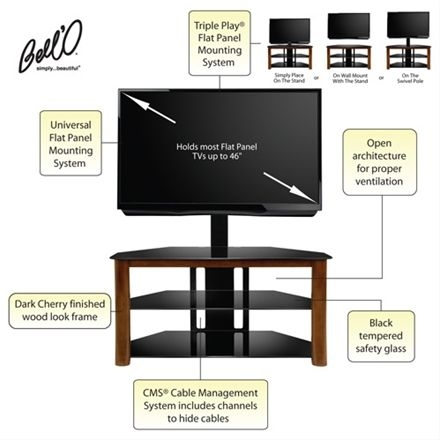 Fantastic Best Wood TV Stands With Swivel Mount Regarding Best 25 Tv Swivel Mount Ideas On Pinterest Swivel Tv Wall Mount (Image 13 of 50)