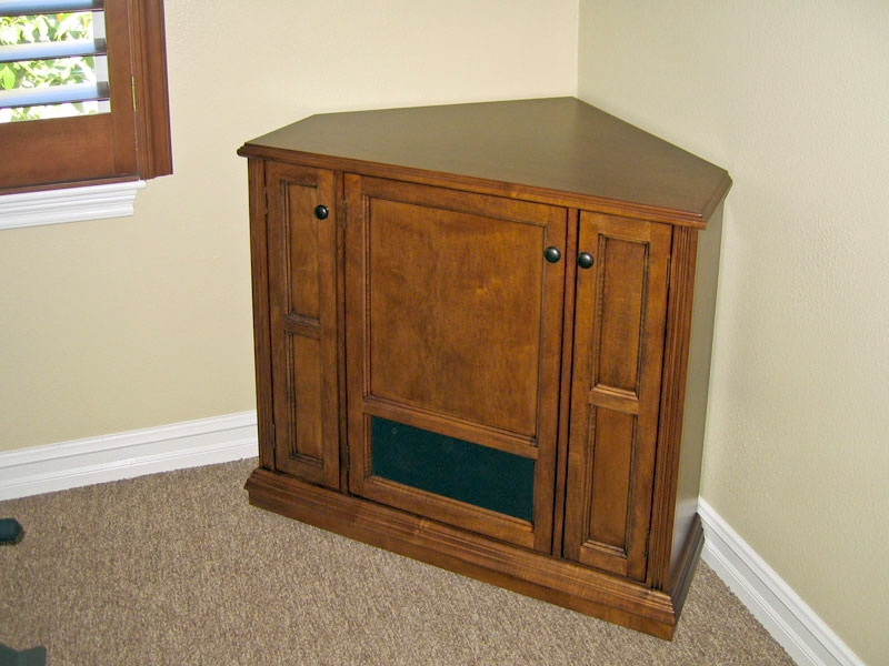 Fantastic Best Wooden Corner TV Cabinets Within Cabinet Best Corner Tv Cabinet Ideas Black Corner Tv Cabinet (Image 12 of 50)