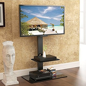 Fantastic Brand New 65 Inch TV Stands With Integrated Mount Within Amazon Fitueyes Tt207001mb Swivel Tv Stand And Mount For  (Image 16 of 50)
