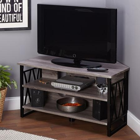 Fantastic Brand New Black Corner TV Stands For TVs Up To 60 Intended For Cheap Corner 60 Tv Stand Find Corner 60 Tv Stand Deals On Line At (Image 16 of 50)