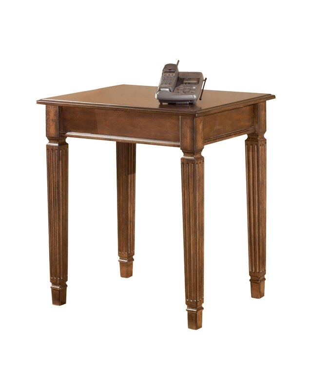 Fantastic Brand New Corner Coffee Tables Regarding Signature Design Ashley Hamlyn Corner Table Reviews Wayfair (View 35 of 50)