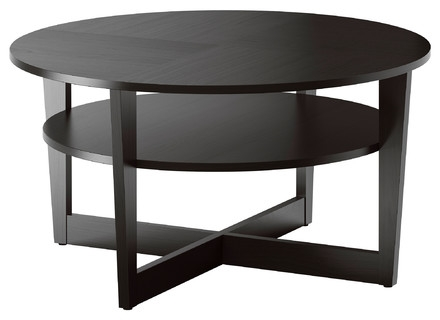 Fantastic Brand New Glass And Black Coffee Tables For Glass And Black Coffee Table Jerichomafjarproject (Image 15 of 50)