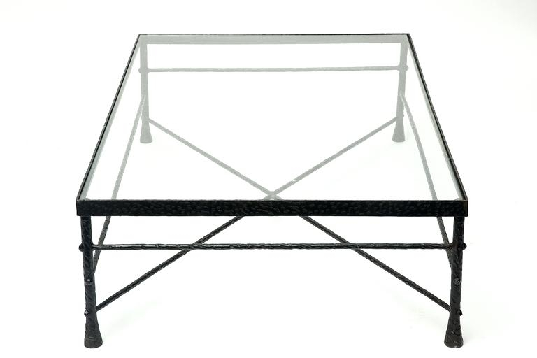 Fantastic Brand New Glass And Black Metal Coffee Table With Iron Glass Coffee Table Theltco (Image 11 of 50)