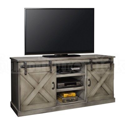 Fantastic Brand New Grey TV Stands Inside Farmhouse 66 Inch Tv Console Aged Grey Tv Stands And Tv (Image 20 of 50)