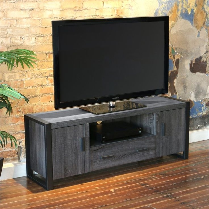 Fantastic Brand New Grey Wood TV Stands Pertaining To 19 Best Tv Standsmedia Consoles Images On Pinterest (Image 19 of 50)