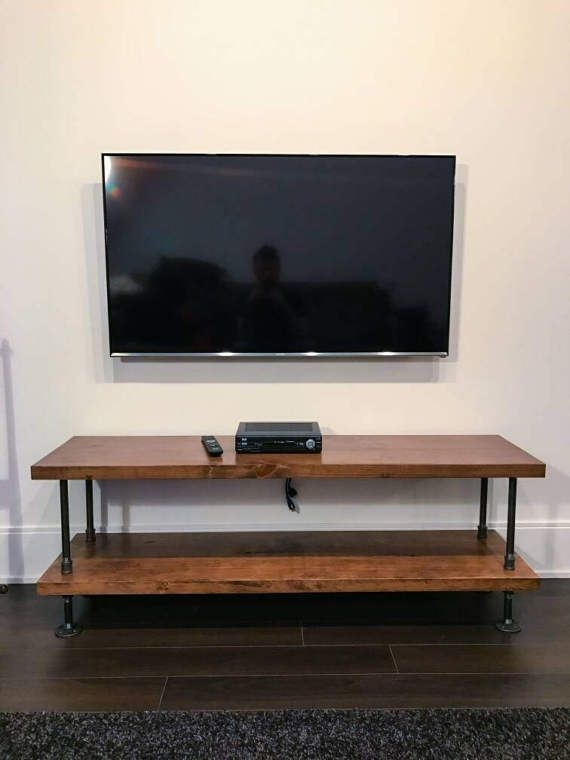 Fantastic Brand New Industrial TV Stands Pertaining To Best 20 Industrial Tv Stand Ideas On Pinterest Industrial Media (Image 17 of 50)