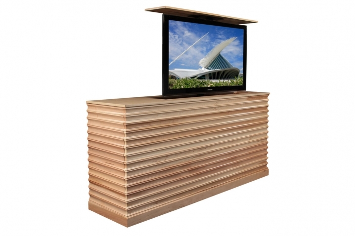 Fantastic Brand New Maple TV Cabinets Regarding Raising Tv Cabinet Accord Maple Tv Lift Cabinet (Image 16 of 50)