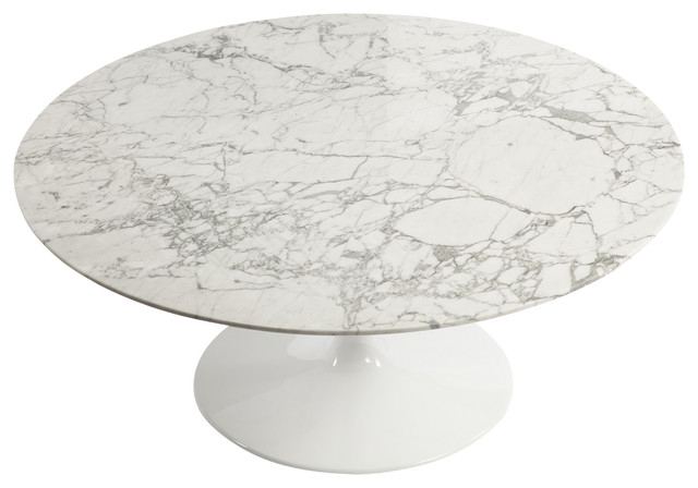 Fantastic Brand New Marble Round Coffee Tables In Tulip Marble Coffee Table White Midcentury Coffee Tables (View 27 of 50)