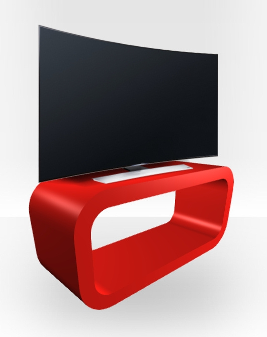 Fantastic Brand New Red Gloss TV Stands For Red Gloss Tv Stand Hooptangle Free Uk Delivery Zespoke (View 12 of 50)