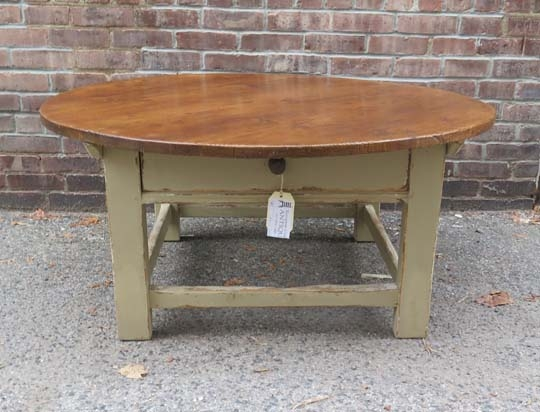 Fantastic Brand New Round Pine Coffee Tables With Collection Products (Photo 7 of 50)