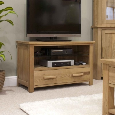 Fantastic Brand New Small Oak TV Cabinets For Oak Tv Stand Solid Oak Tv Unit Cabinet Furniture Plus (Image 19 of 50)