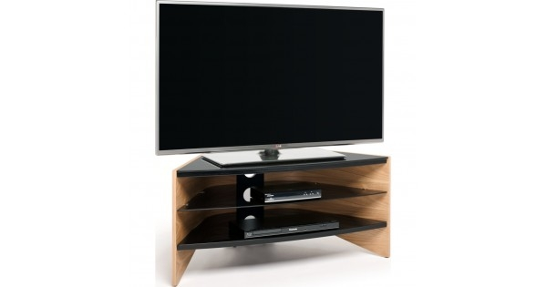 Fantastic Brand New Techlink Riva TV Stands Pertaining To Black Glass Shelves Screens Up To  (Image 17 of 50)