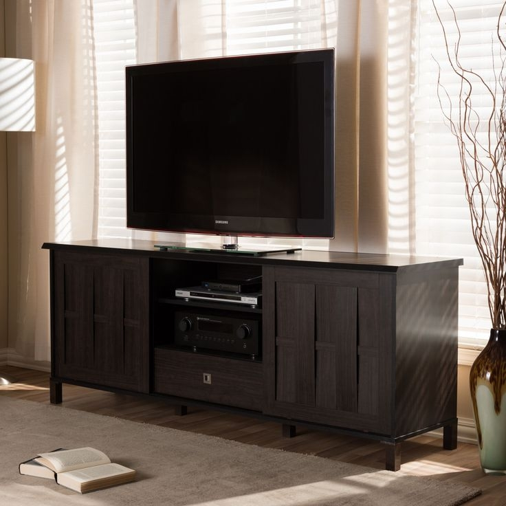 Fantastic Brand New Wenge TV Cabinets With The 25 Best Dark Wood Tv Stand Ideas On Pinterest Rustic Tv (Image 15 of 50)