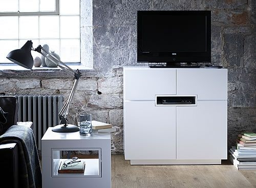 Fantastic Brand New White Tall TV Stands Intended For Best 25 Tall Tv Cabinet Ideas On Pinterest Tall Tv Unit Tall (Image 18 of 50)