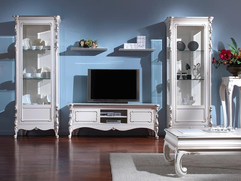 Fantastic Common Classic TV Stands With Regard To Furniture Tv Cabinets Classic Style Idfdesign (Image 16 of 50)