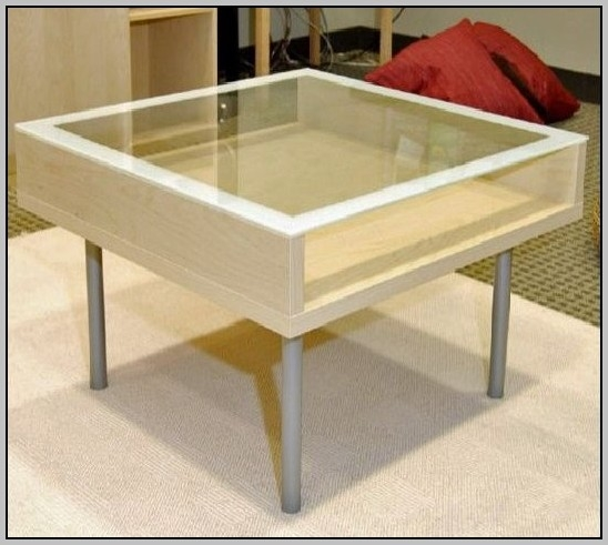 Fantastic Common Coffee Tables With Glass Top Display Drawer Regarding Glass Top Display Coffee Table With Drawers Coffee Table Home (Image 17 of 40)