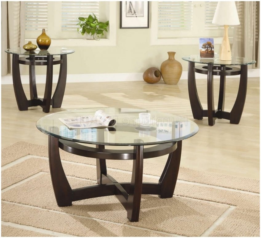 Fantastic Common Contemporary Coffee Table Sets Throughout Glass Coffee Table Sets Sale Cocinacentralco (View 40 of 50)