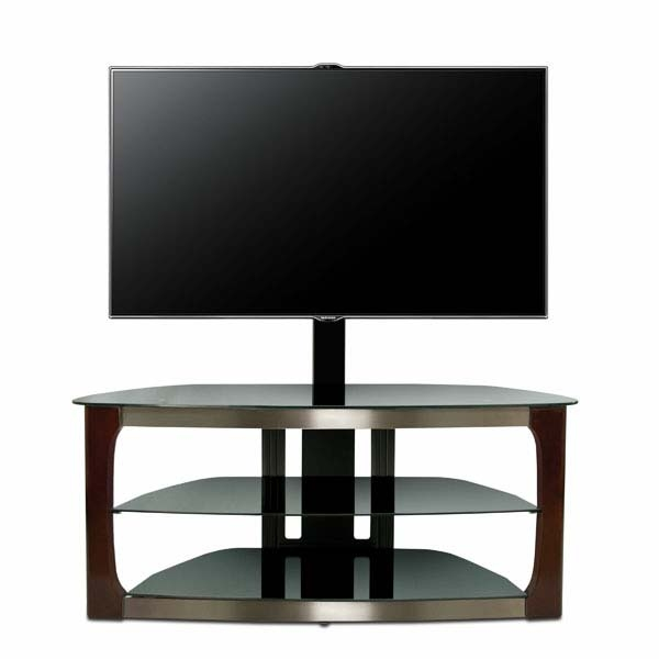 Fantastic Common Corner TV Stands For 60 Inch TV Intended For Bello Triple Play Series 60 Inch Tv Stand With Swivel Mounting (Image 22 of 50)