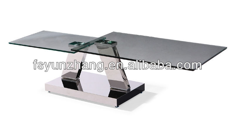 Fantastic Common Extendable Coffee Tables Regarding Extendable Swivel Oval Glass Top Coffee Table Buy Oval Glass Top (Image 17 of 40)