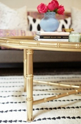 Fantastic Common Gold Bamboo Coffee Tables For Bamboo Coffee Tables Foter (View 14 of 50)