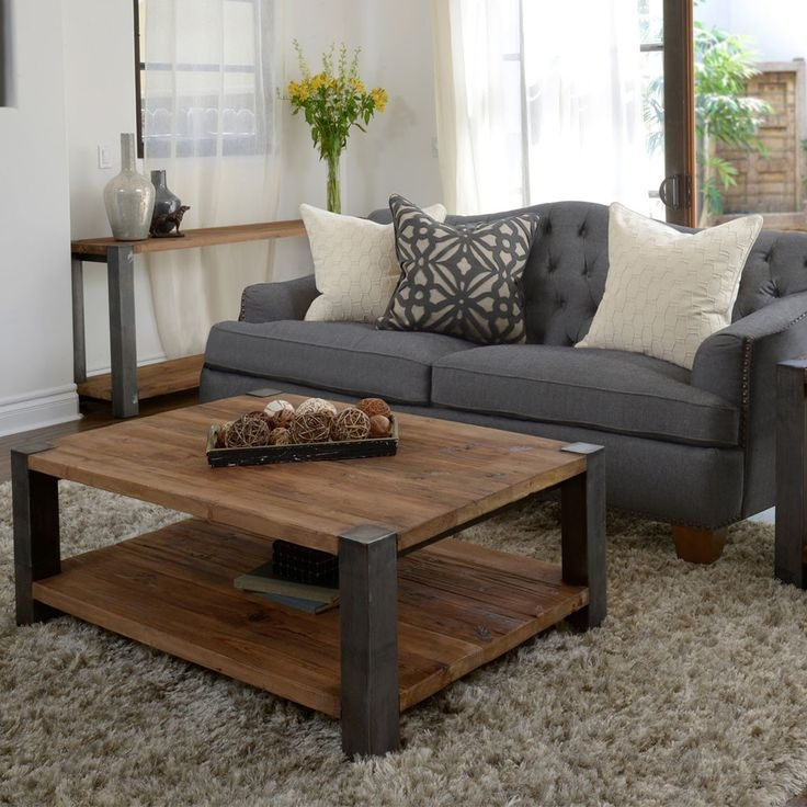 Fantastic Common Hardwood Coffee Tables With Storage Regarding Best 20 Square Coffee Tables Ideas On Pinterest Build A Coffee (View 34 of 50)