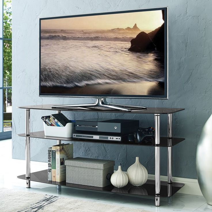 Fantastic Common Iconic TV Stands Inside Top 25 Best Glass Tv Stand Ideas On Pinterest Lcd Tv Stand (View 48 of 50)