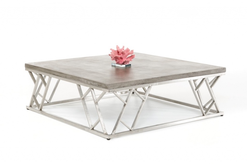 Fantastic Common Modern Chrome Coffee Tables Intended For Chrome Coffee Table (Image 14 of 40)