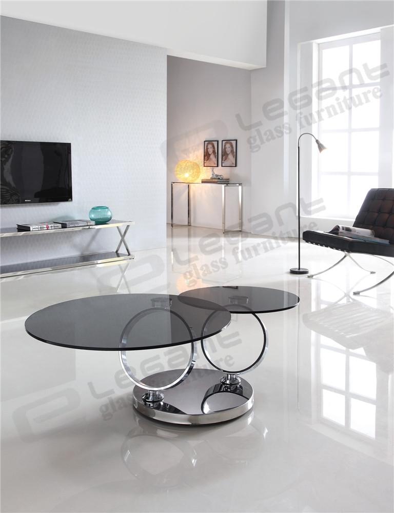 Fantastic Common Revolving Glass Coffee Tables For Revolving Glass Coffee Table (Image 13 of 40)