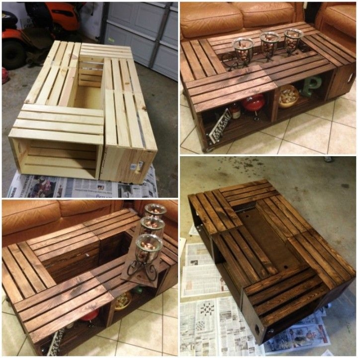 Fantastic Common Rustic Wood DIY Coffee Tables Within Best 25 Diy Coffee Table Ideas On Pinterest Coffee Table Plans (Image 18 of 50)
