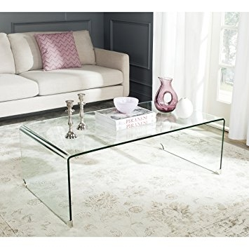 Fantastic Common Safavieh Coffee Tables Intended For Amazon Safavieh Home Collection Willow Clear Coffee Table (Image 19 of 50)