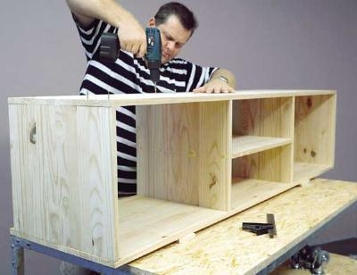 Fantastic Common Telly TV Stands Regarding Tv Stand Plans Tv Stand Woodworking Plans The Faster Easier (View 49 of 50)