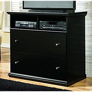 Fantastic Deluxe Black TV Stands With Drawers For Amazon Ashley Furniture Signature Design Maribel Media (Image 16 of 50)
