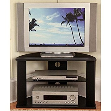 Fantastic Deluxe Cornet TV Stands With Amazon 4d Concepts Corner Tv Stand Kitchen Dining (Image 20 of 50)