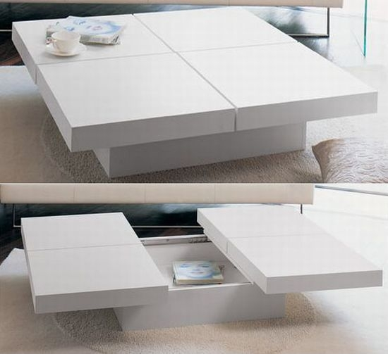Fantastic Deluxe Large Low White Coffee Tables Pertaining To Remarkable White Low Coffee Table For Interior Home Trend Ideas (Image 15 of 50)